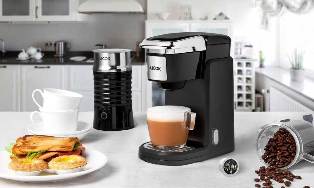 Aicok Single Serve Coffee Maker Great Coffee Brewers